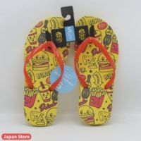 Beach Style Yellow Stylish Slippers / Chappal