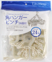 Square hanger pinch 24pcs