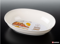 Oval Dish (White)