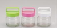 Jar with plastic lid