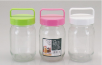 Jar with plastic lid (L)