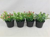 Artificial Pot & Flower