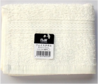 N&W Color Face Towel White