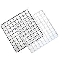 Iron Grid For Hanging Pictures on Wall